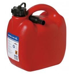 Bidon à carburant en plastic avec flexible homologué EU 10L