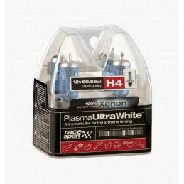 Boite d'ampoules H4 plasma ultra white 2 pièces