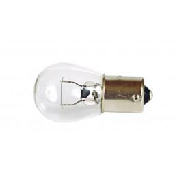 Ampoule stop 12V/21w/1plot bau15s ergots deca. Vendu par 10 pièces