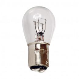 Ampoule de stop 12V. 21w/5w. 2 plots bay15d vendu par 10 pièces