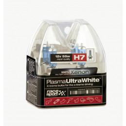 Boite d'ampoules H7 plasma ultra white 2 pièces