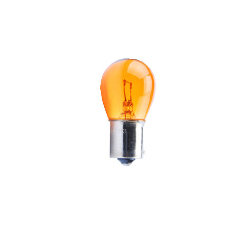 10 ampoules halogene BAU15S / PY21W orange 12V/21W