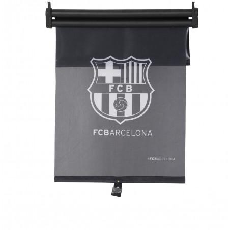 """Double store pare-soleil à enrouleur """"FC BARCELONE"""" 43x50 cm"""