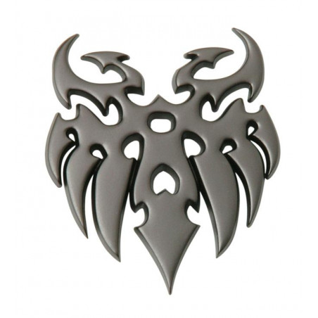 Emblème gun métal tatoo
