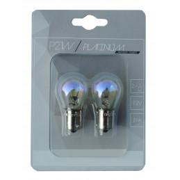 2 ampoules Rainbow PLATINUM P21W BA15S 12 21V orange