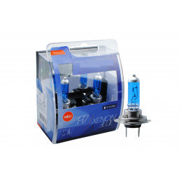 2 ampoules BLUE XENON H7 12V 55W look XENON HID