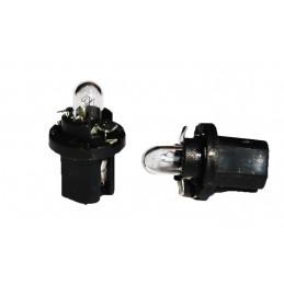 10 ampoules halogène BX8.5d 1.2w 12V
