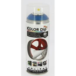 Kolor dip peinture finition bleu metallique 400ml