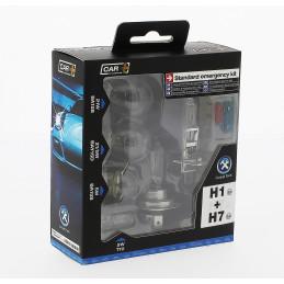Coffret ampoules homologuées 12V. Kombi H1+H7