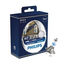 Ampoule PHILIPS H7 Racing Vision PX26d 12V 55W