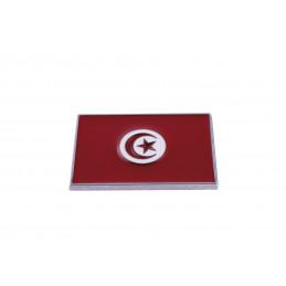 Emblème chrome 'tunisie' -...