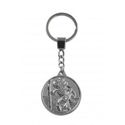Porte clé Saint Christophe,...