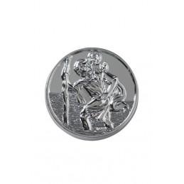 Médaille ronde Saint...