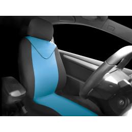 Housse de siège noir/bleu...