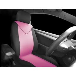 Housse de siège noir/rose...