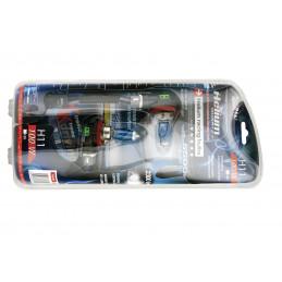 Ampoules hélium quartz H11...