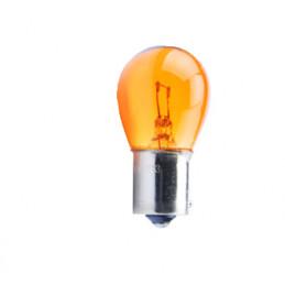 10 ampoules halogene BAU15S / PY21W orange 12V/21W