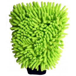 Gant de lavage microfibre
