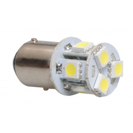 1 ampoule LED BaY15d 24V 8...