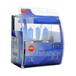 2 ampoules BLUE XENON H11 12V 55W look XENON HID