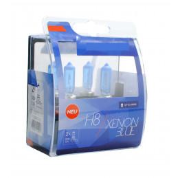 2 ampoules BLUE XENON H8 12V 55W look XENON HID