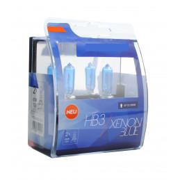 2 ampoules BLUE XENON HB3 12V 55W look XENON HID