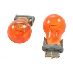 10 ampoules halogène 3156 12V/27W orange