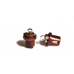 2 ampoules halogène BX8.5d 1.2w 24V