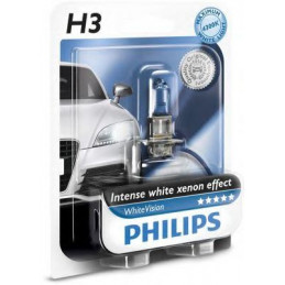 Ampoule PHILIPS H3 White Vision 12V 55W