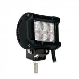 Lampe LED de travail / barre de toit 4x4 18W 1200LM - 95,7x63x107,83mm