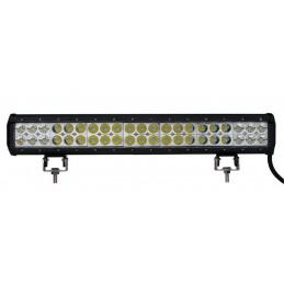 Lampe LED de travail / barre de toit 4x4 126W 8400LM - 502.1x63x107.83mm