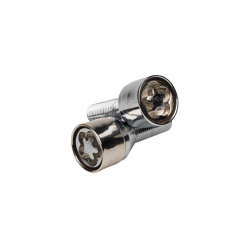 Sumex antivol de roue BUTZI chrome avec empreinte 12x1.50 L26 conique
