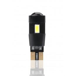 ampoule LED T10 W5W 12V canbus 6xSMD5730 + lentille blanc
