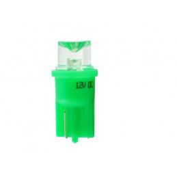 ampoule verte T10 W5W 1 LED