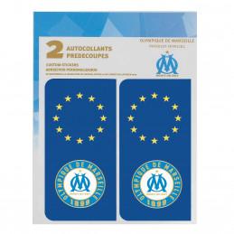 Autocollants prédécoupés logo Olympique de Marseille - Europe