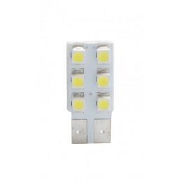 ampoule LED blanc T10 W5W 6xSMD3528 12V 0.48W