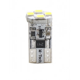 ampoule LED blanc canbus T10 W5W 4xSMD5050 12V 0.96W