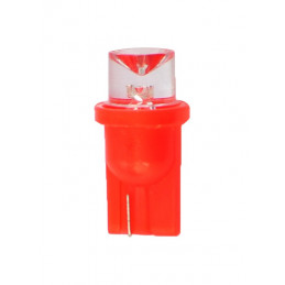 ampoule LED rouge T10 W5W 24V 0.29W