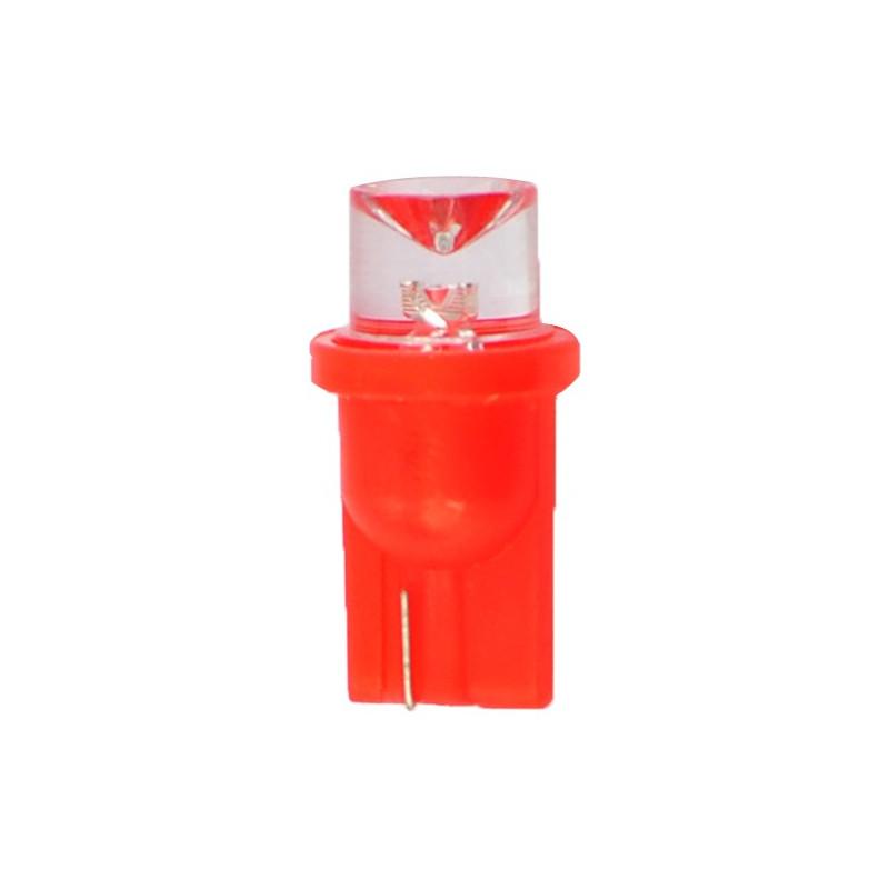 ampoule LED rouge T10 W5W 24V 0.29W