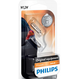 2 ampoules PHILIPS T5 W1.2W...