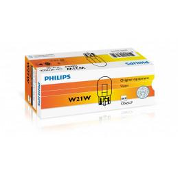 10 ampoules Philips 12V 21W T20  W3x16d