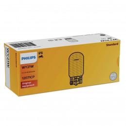 10 ampoules Philips WY21W 12V 21W Wx3x16d