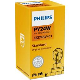 Ampoule PHILIPS PY24W 12V 24W PGU20/4