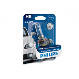 Ampoule H8 Philips White Vision12V/35W PGJ19-1 B1
