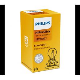 Ampoule PHILIPS  HIPER CLICK 12V 16W PU20d/2