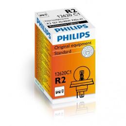 Ampoule PHILIPS R2 12V 45/40W P45t-41