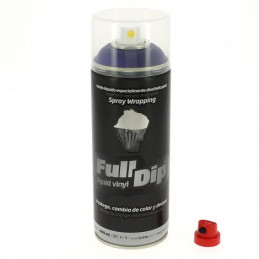 Peinture élastomère en spray Full dip 400ml - Finition violet mate