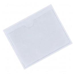 Etui vignette porte assurance en PVC cristal incolore adhésif