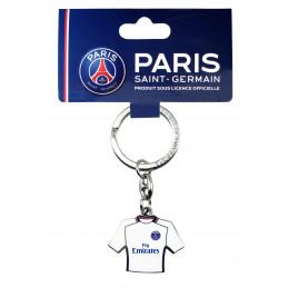Porte clé PSG métal maillot extérieur
