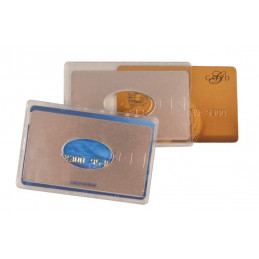 Etui 1 carte rigide ANTI-RFID